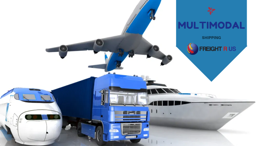 Multimodal shipping