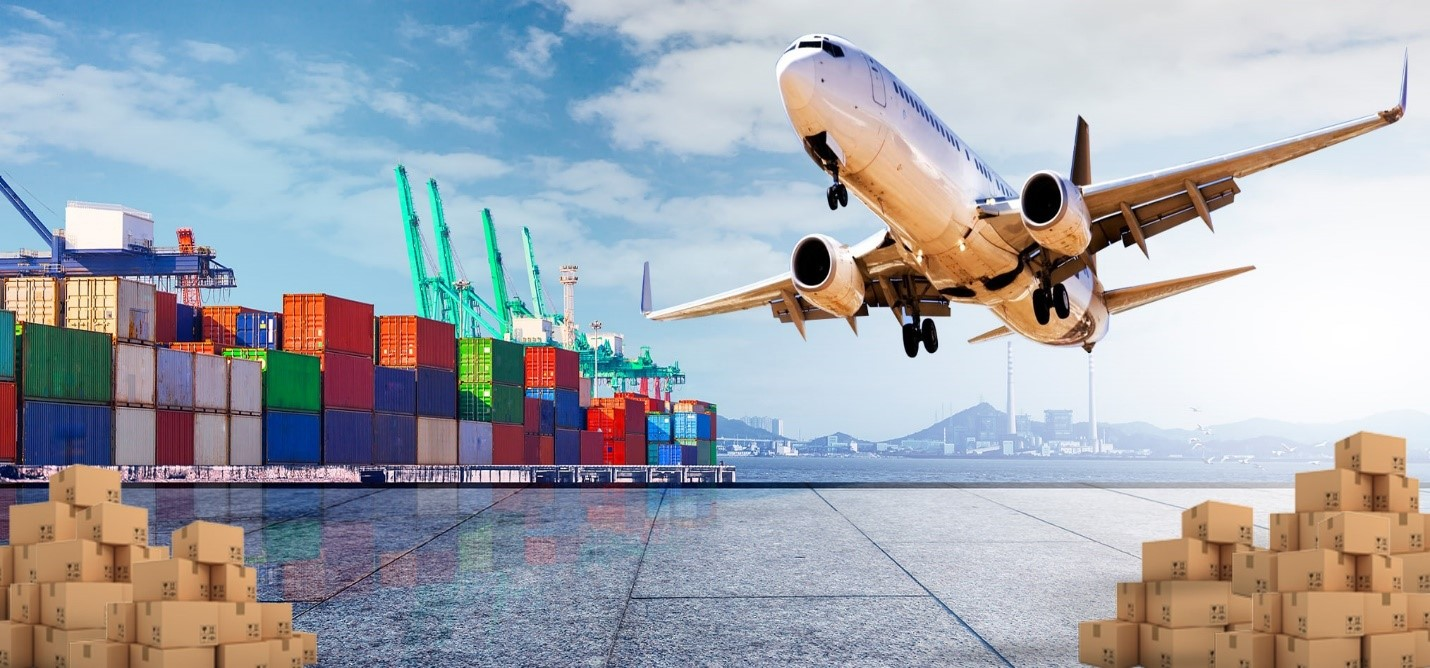 Easy Shipping with air freight